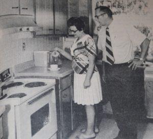 Mr. & Mrs. Ben Zoellner, the first house parents at Ruth Jensen Village.